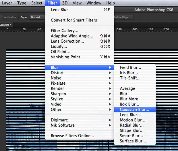 Aplique o filtro Gaussian Blur (Foto: Reprodução/André Sugai)