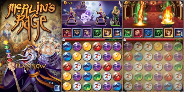 Merlins Rage mistura RPG e Puzzle em um pacote gratuito (Foto: Divulgação)