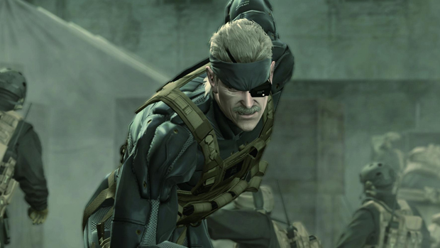 Metal Gear Solid 4 traz Solid Snake em sua melhor forma. (Foto:Reprodução)