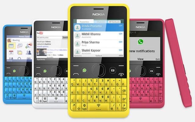 Nokia Asha 210 traz botão dedicado ao WhatsApp e conexão Wi-Fi (Foto: Divulgação)