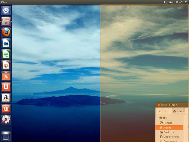 Nova versão do Ubuntu traz melhorias visuais e velocidade (Foto: Reprodução/Edivaldo Brito)