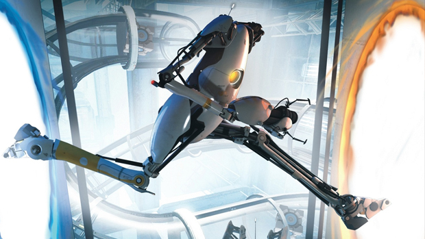 Portal 2 traz uma proposta diferenciada. (Foto: Divulgação)