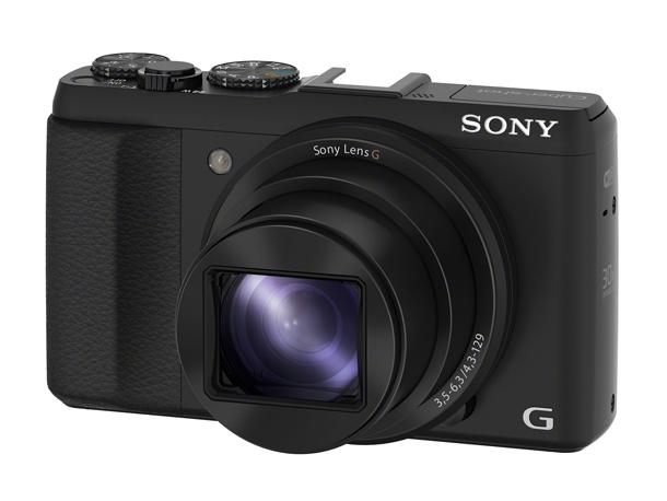 Sony anuncia HX-50, e afirma que a câmera é a menor e mais leve do mundo. (Foto: Divulgação / Canon)