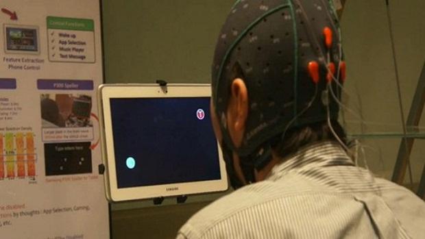 Samsung desenvolve tablet movido pela mente (Foto: Samsung desenvolve tablet movido pela mente)