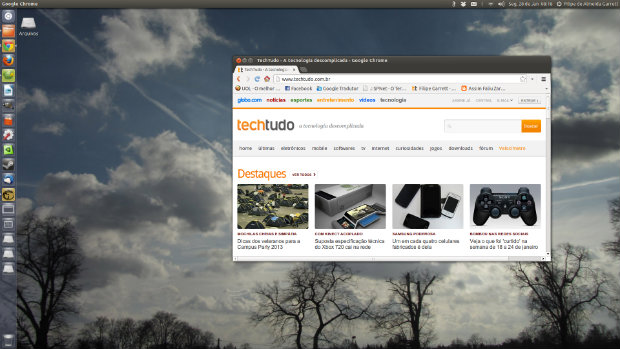 Próximka Versão do Ubuntu será lançada em outubro (Foto: Reprodução/Filipe Garrett)