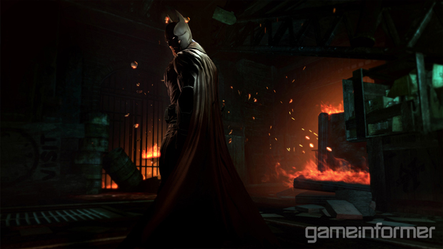 Batman ainda nem imagina as dificuldades que irá passar em Arkham Origins (Foto: Game Informer)