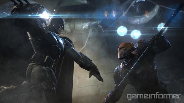 Deathstroke, será um dos caçadores de Batman em Arkham Origins (Foto: Game Informer)