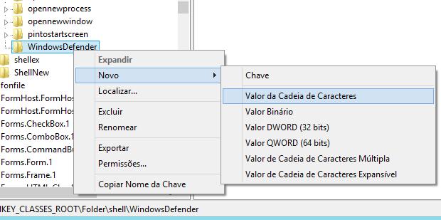 Aprenda a verificar arquivos no menu de contexto com o Windows Defender Captura-de-tela-41