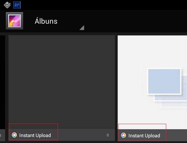 Álbum duplicado no app Galeria, do Android (Foto: Reprodução Android / Melissa Cruz)