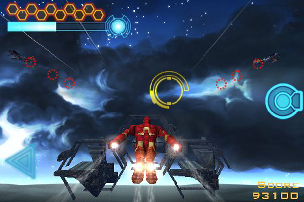 O herói também estrelou jogos para iPhone (Foto: Divulgação)