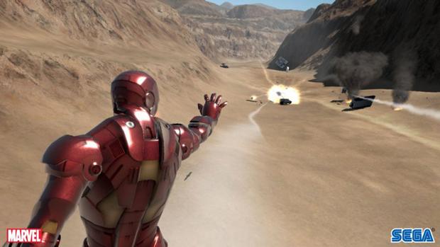 Iron Man, o jogo do primeiro filme, não foi lá muito bom (Foto: Divulgação)
