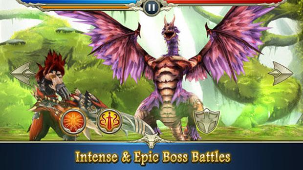 Monster Blade é aventura gratuita para iOS e Android (Foto: Divulgação)