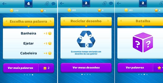 Há diversas opções para criar um novo jogo (Foto: Reprodução/Thiago Barros)
