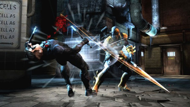 Injustice permite a troca de cenários no meio da luta (Foto: Divulgação)