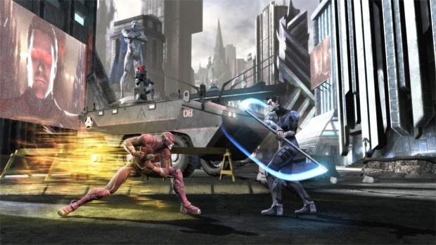 O encontro de poderes ocorre uma vez na luta toda (Foto: Divulgação)