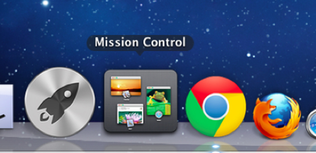 Acesse o Mission Control na Dock do sistema (Foto: Reprodução/Thiago Bittencourt)