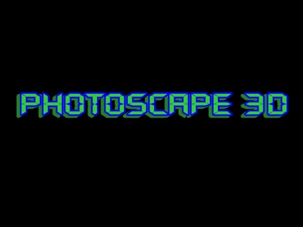 Texto 3D criado no Photoscape (Foto: Reprodução/ Raquel Freire)