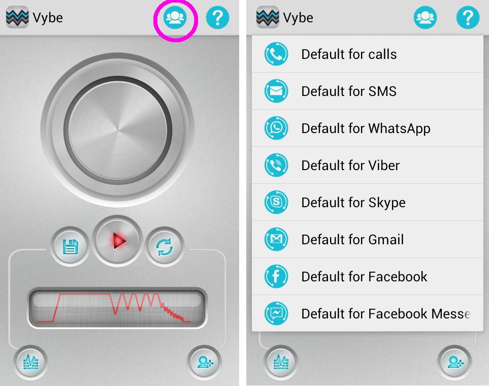 Pode-se relacionar os toques a ligações, SMS, WhatsApp, Viber, Skype, Gmail, Facebook e Facebook Messenger (Foto: Reprodução/Marcela Vaz)
