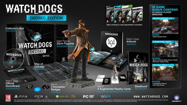 Watch Dogs Dedsec Edition é a edição de colecionador mais completa (Foto: Eurogamer)
