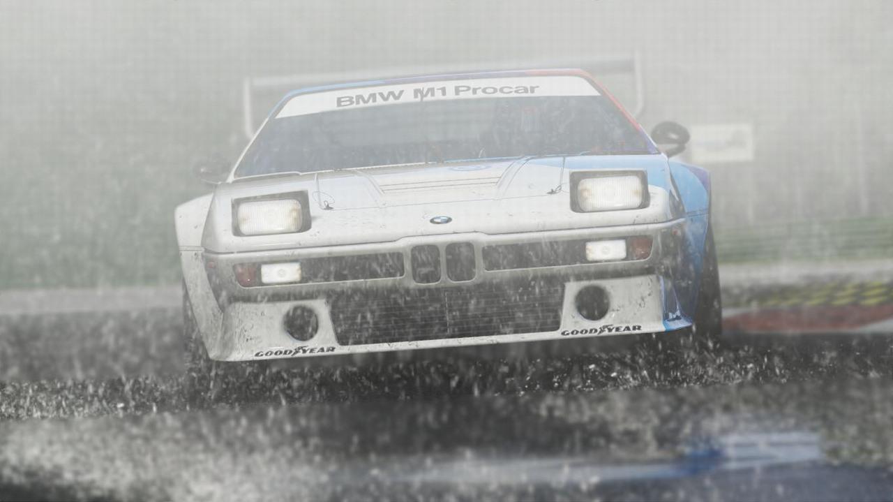 Chuva torrencial de alto realismo em Project CARS (Foto: Divulgação)