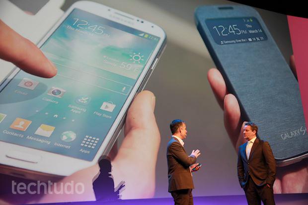 Galaxy S4 é apresentado para o público brasileiro no Rio de Janeiro, com a presença do ator Dan Stubach (Foto: TechTudo/Léo Torres)
