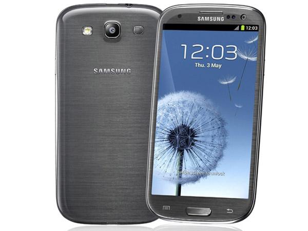 Galaxy S3 LTE tem cor especial em grafite (Foto: Divulgação)