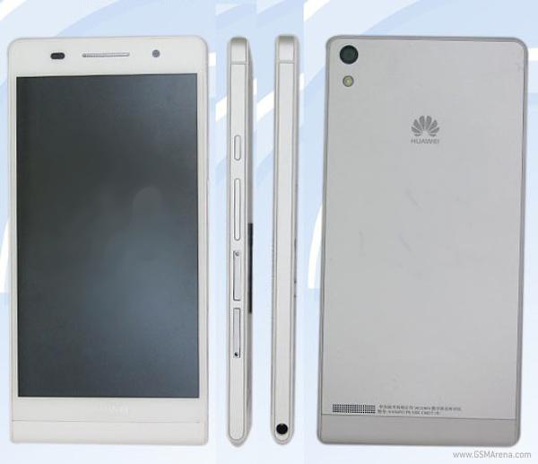 O Huawei Ascend P6 tem apenas 6,18 milímetros de espessura (Foto: Reprodução/Teena.cn)
