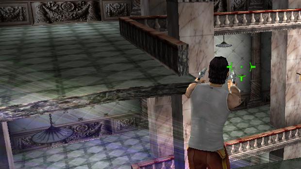 A visão em terceira pessoa auxilia na identificação dos inimigos. (Foto: Reprodução)