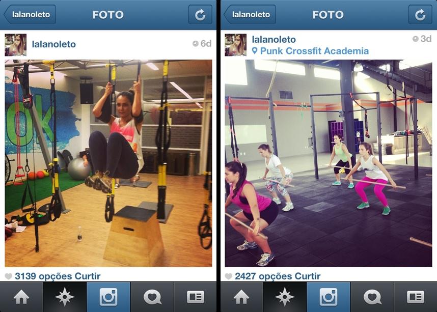 A blogueira Lala Noleto se inspirou na apresentadora Sabrina Sato para criar o projeto no Instagram (Foto: Reprodução/Instagram)