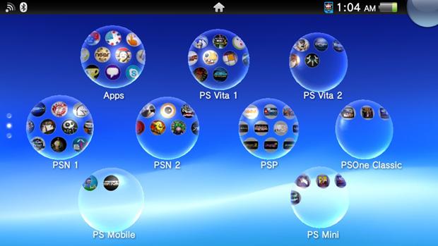 Pastas permitem organizar melhor seus jogos e aplicativos do PS Vita (Foto: Rafael Monteiro)