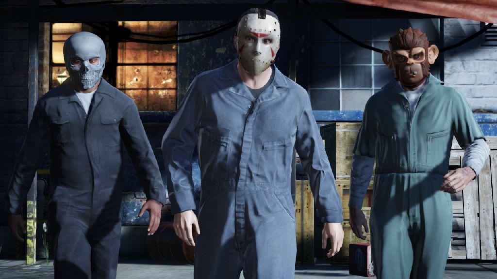 Assaltos serão um dos destaques de GTA 5 (Foto: Divulgação)