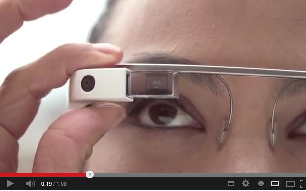 Vídeo explica o funcionamento do Google Glass (Foto: Reprodução)