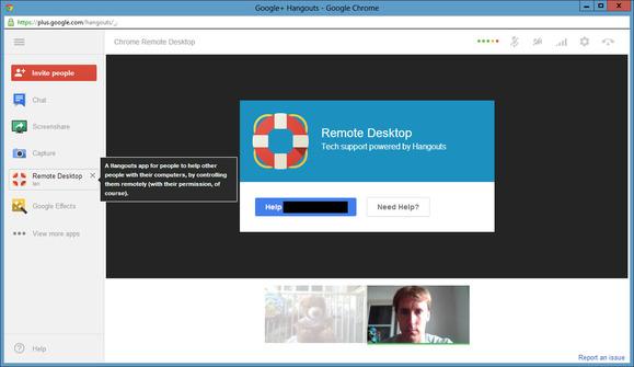 Hangouts do Google+ ganham ferramenta para acesso remoto. (Foto: Reprodução / PC World)