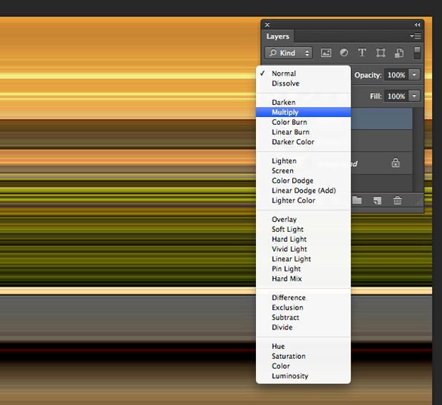 Modo de blend da layer alterado para Multiplicar. (Foto: Reprodução/André Sugai)