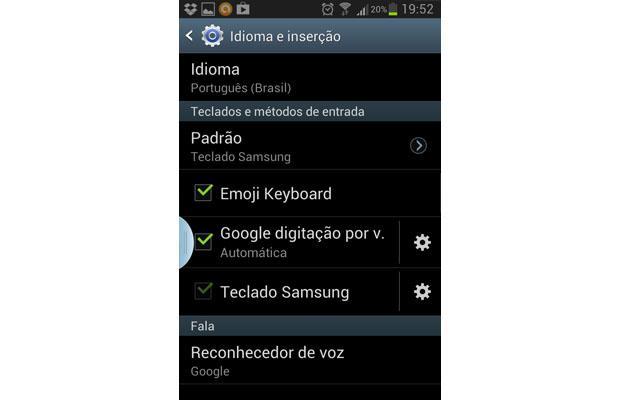 Dependendo do seu Android, opção é diferente (Foto: Reprodução/Aline Jesus)