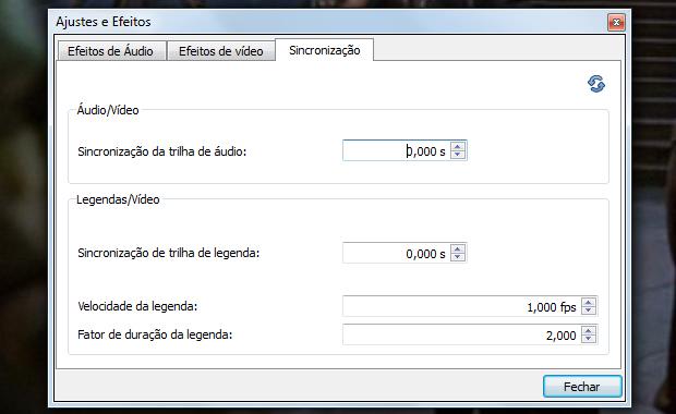 Altere a velocidade da legenda e do áudio (Foto: Reprodução)