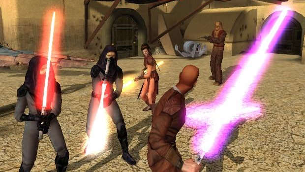 Star Wars: Knights of the Old Republic impressionava pelas escolhas (Foto: gametrailers.com)