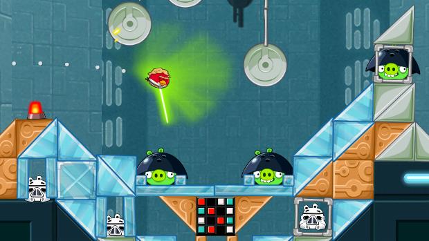 Angry Birds Star Wars pegou o melhor de dois universos com muito humor (Foto: screwattack.com)