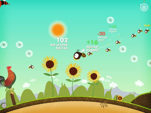 Bee leader é um jogo diferente onde você é o líder de uma colmeia (Foto: Divulgação) (Foto: Bee leader é um jogo diferente onde você é o líder de uma colmeia (Foto: Divulgação))