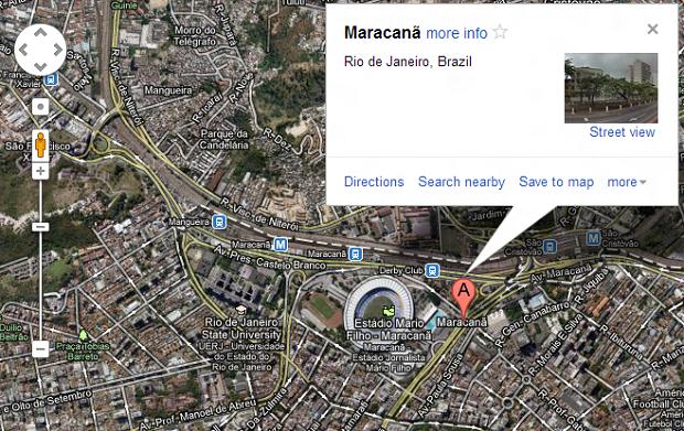 Nesta opção, você pode tornar um local seu favorito (Foto: Reprodução/Thiago Barros)