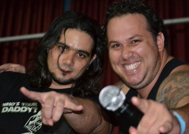 O guitarrista Brunão e o cantor Allan Big Thunder (Foto: Divulgação) (Foto: O guitarrista Brunão e o cantor Allan Big Thunder (Foto: Divulgação))