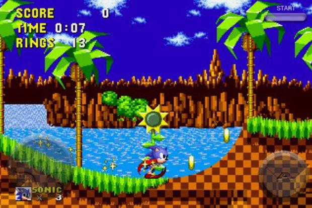 Sonic, uma grande inspiração para o MegaDriver (Foto: Divulgação)