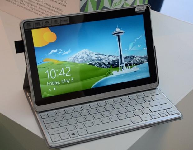 Aspire P3 - Ultrabook que vira tablet com Windows 8 (Foto: Reprodução / The Verge)