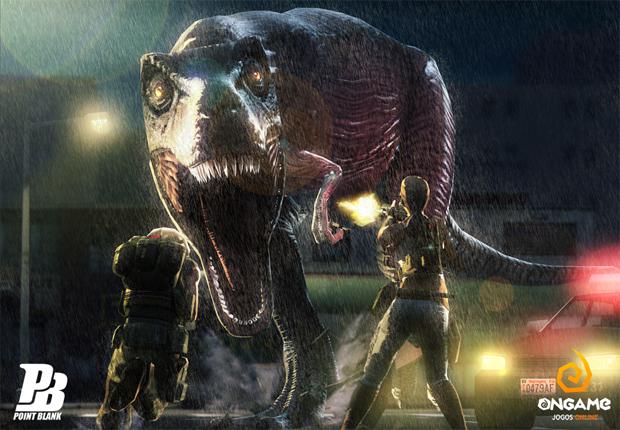 Point Blank ganha atualização com dinossauros (Foto: Divulgação)