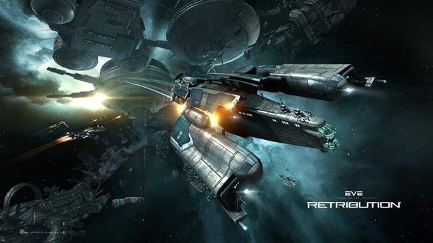 O complexo mundo espacial de Eve Online (Foto: Divulgação)