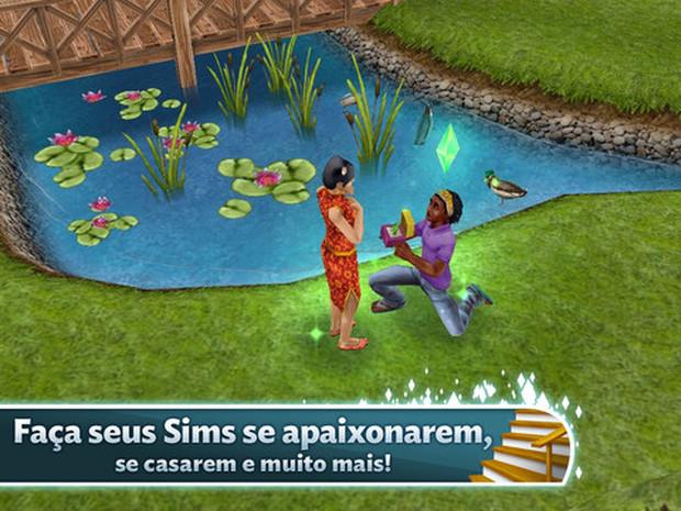 The Sims FreePlay é tudo que se espera de um game de The Sims (Foto: Divulgação)