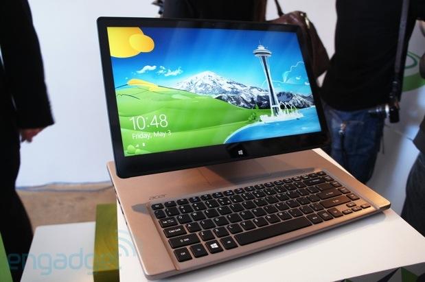 Acer lança laptop tudo-em-um Aspire R7 (Foto: Reprodução / Engadget)
