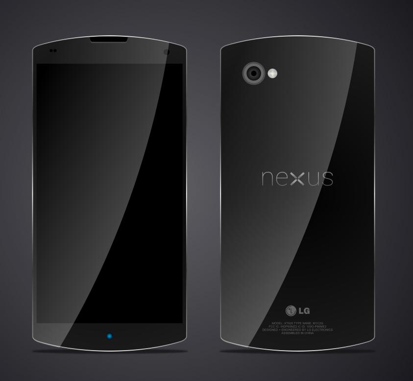 O LG Nexus 5 terá display de 5,2 polegadas Full HD e câmera de 16 megapixels (Foto: Reprodução/AndroidAndMe)