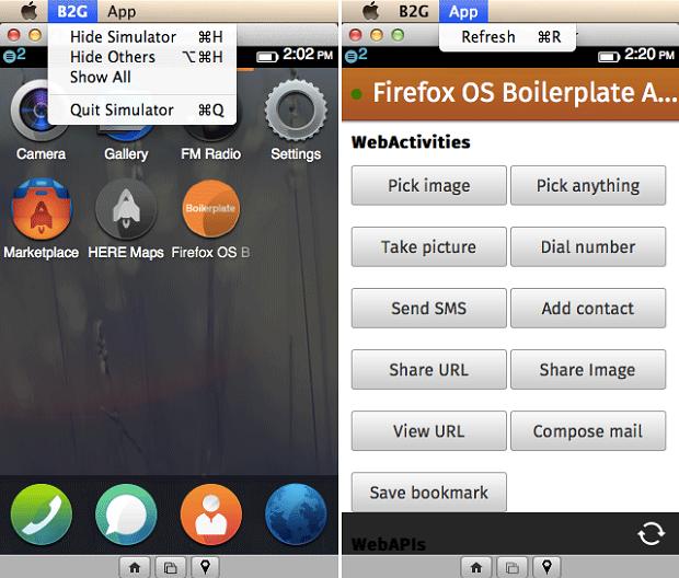 Firefox OS tem simulador para o browser de PC (Foto: Divulgação)