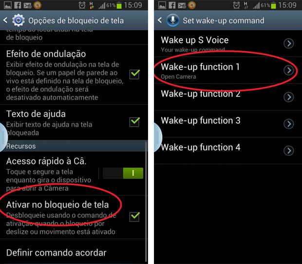 Galaxy S3 oferece diferentes opções de comando de voz (Foto: Daniel Ribeiro/TechTudo)